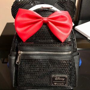 Minnie Mouse Sequenced Backpack (Loungefly)